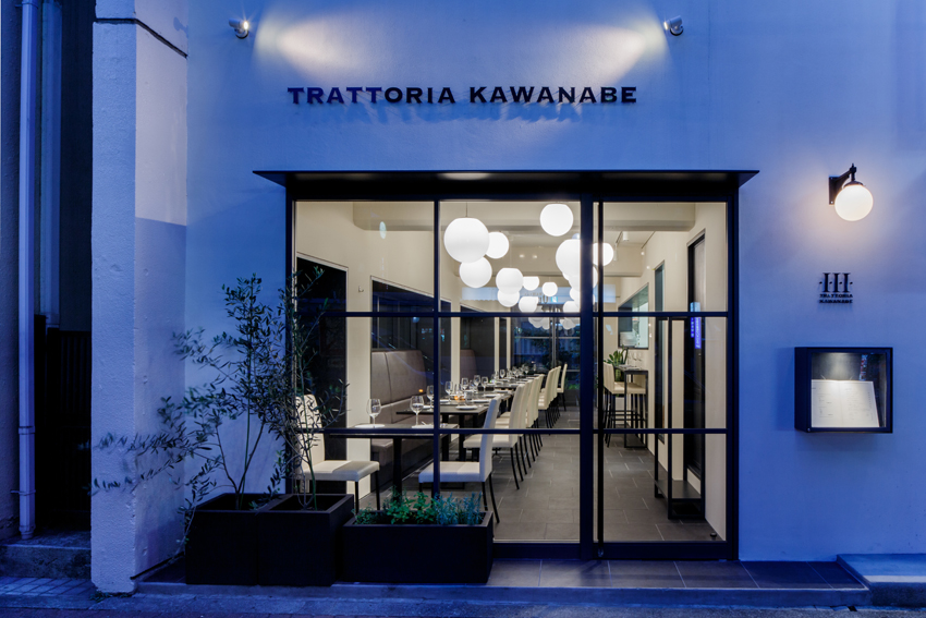 Trattoria Kawanabe by Daisuke Sugawara